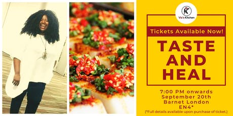 Taste and Heal  tickets
