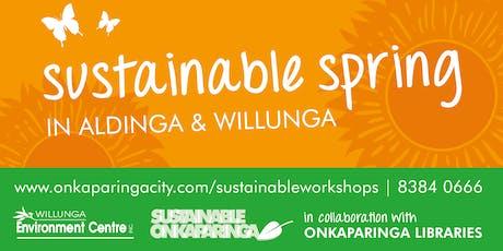 Sustainable Spring: Create Handmade Festive Decorations -Aldinga Library tickets