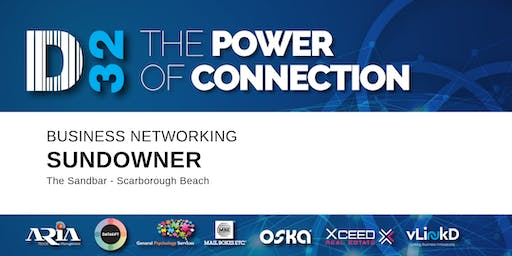 District32 Business Networking Sundowner - Fri 27th Sept