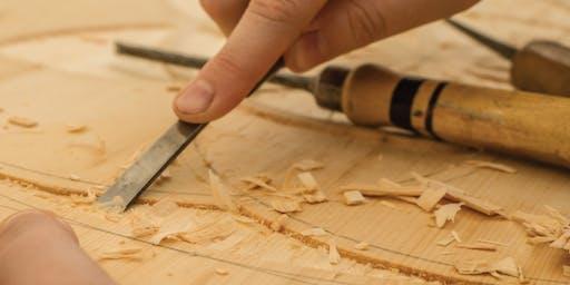 Woodblock Carving + Printing