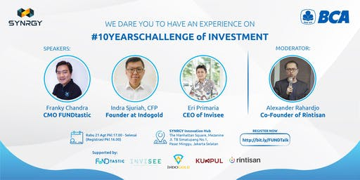 We Dare You To Have An Experience On #10YearsChallenge of Investment
