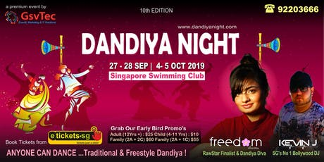 Dandiya Night 27th Sep 2019 tickets