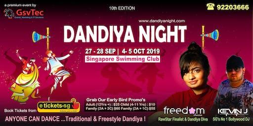 Dandiya Night 27th Sep 2019