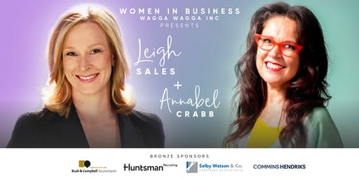 WiB Wagga - Dinner with Leigh Sales & Annabel Crabb