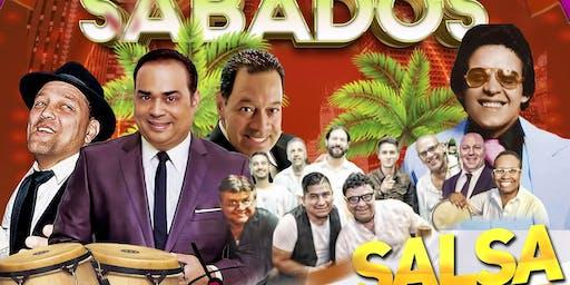 Sabados Rumberos Salsa De Barrio en Vivo Musica Latina