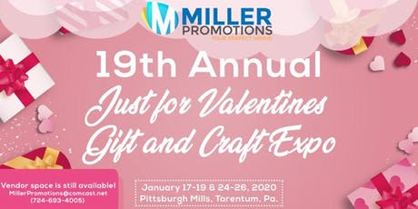 19th Annual Gifts and Crafts for Valentine Expo tickets