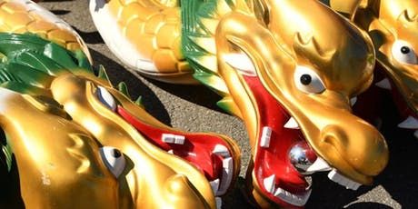 Dragon Boat with Asian Dragon's Community Fun Day billets