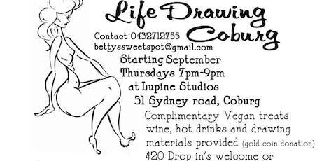 Life Drawing Coburg @Lupinestudios tickets