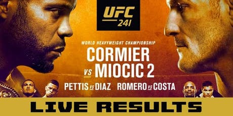 UFC 241 Live DJ, Free Cover, Drink Specials all night tickets