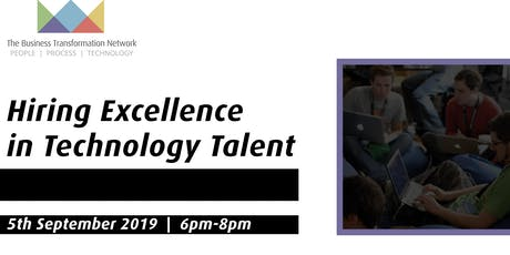 Hiring Excellence in Technology Talent Tickets
