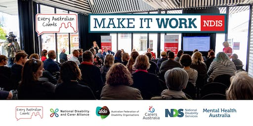 NDIS Make it Work Forum - Redland