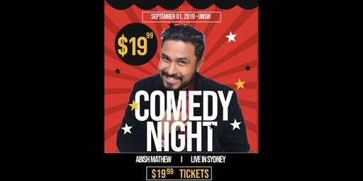 Abish Mathew in Sydney