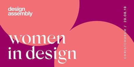 DA Women In Design August 2019 - Christchurch tickets