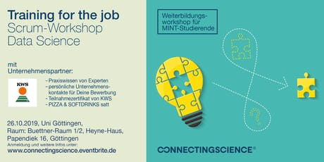 SCRUM-Workshop Data Science: IT-Training mit Profis aus der Industrie Tickets