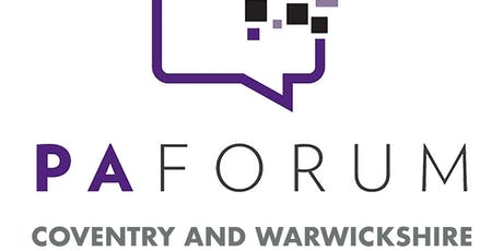 Coventry and Warwickshire PA Forum  tickets