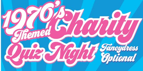 1970's THEMED CHARITY QUIZ NIGHT – IN AID OF EVERTON IN THE COMMUNITY tickets