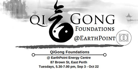 QiGong Foundations- drop in classes  tickets