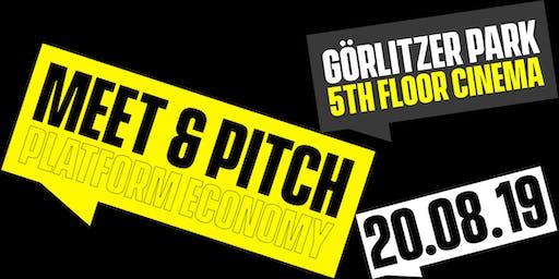 Meet & Pitch: Platform Economy