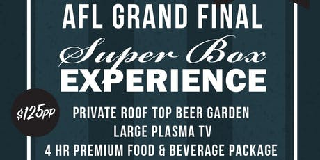 AFL Grand Final Superbox Experience tickets