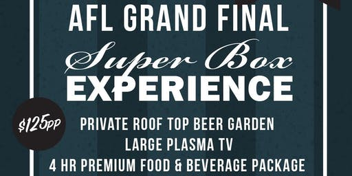AFL Grand Final Superbox Experience