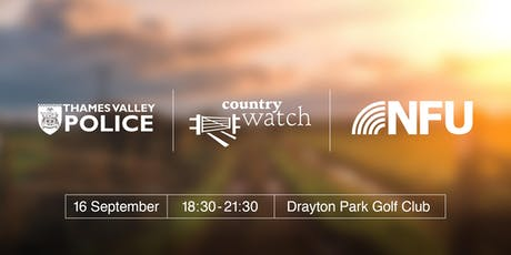 South Oxon and Vale Rural Crime Event tickets