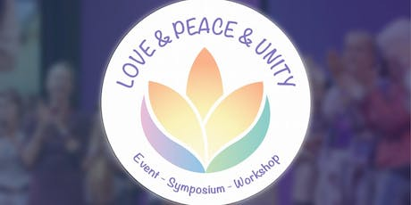 Love & Peace & Unity - Event, Symposium, Workshop Tickets