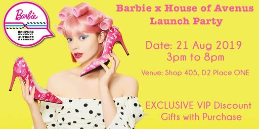 Barbie x House of Avenues Launch Party