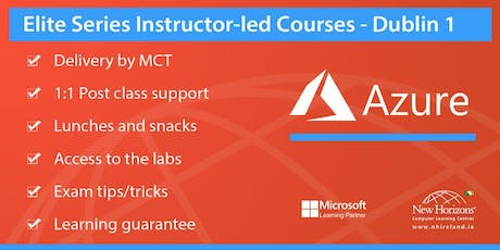 AZ-103 Azure Administrator Associate Training tickets