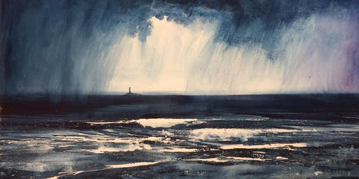 Seascape in Watercolour-Atlantic Storms with Glyn Macey and Winsor & Newton