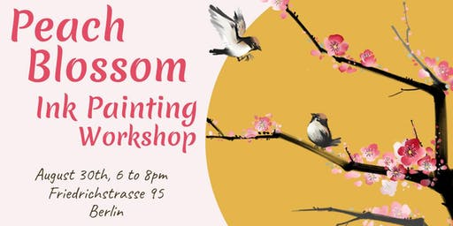 Peach Blossom Ink Painting Workshop