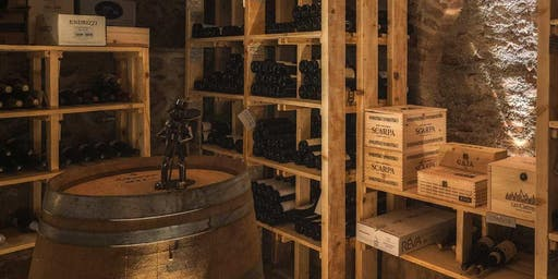 Macchie di vino, d'acqua e colore | la degustazione disegnata di Imaginé