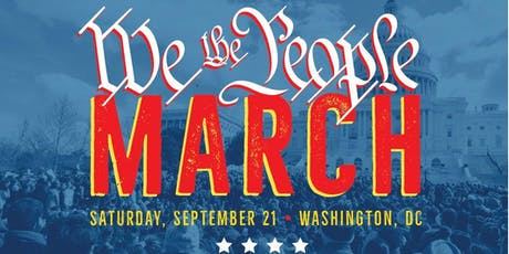 We The People/March on Washington tickets