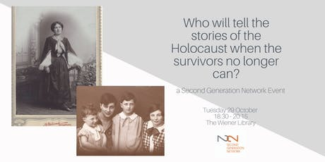 Who will tell the stories of the Holocaust when survivors no longer can? tickets