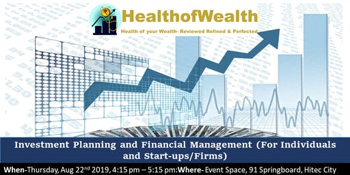 Investment Planning and Financial Management( For Individuals and Startups)