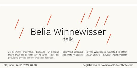Belia Winnewisser Talk billets