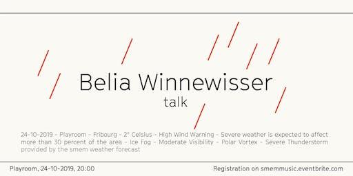 Belia Winnewisser Talk