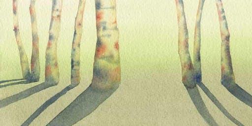 Boschi reali e boschi immaginari | passeggiata acquerellata