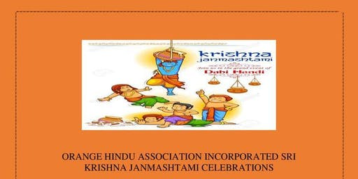 Sri Krishna Janmashtami Celebration Orange NSW