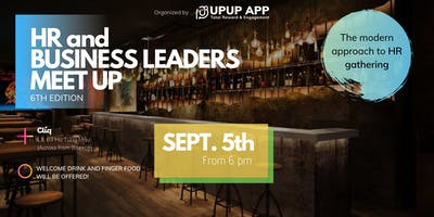 HR and Business Leaders Meet Up at CLIQ bar & lounge, 6th edition