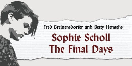 Sophie Scholl - The Final Days tickets
