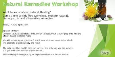 Natural Remedies Workshop-Free