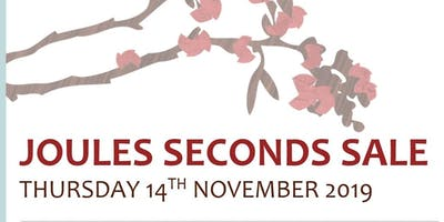 Joules Seconds Sale at Towcestrians Rugby Club 14th November 2019