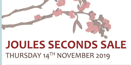 Joules Seconds Sale at Towcestrians Rugby Club 14th November 2019 tickets