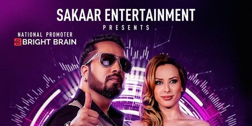 Mika Singh and Iulia Vantur Live In New Jersey