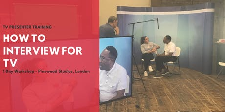 TV Presenter Training: Interviewing For TV tickets