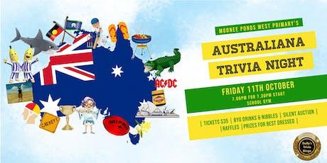 MPW Australiana Trivia Night tickets