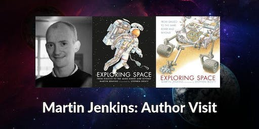 Author visit: Martin Jenkins - Exploring Space