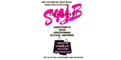 Styled4You Boutique Grand Opening tickets