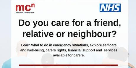 Being a Carer Workshop tickets