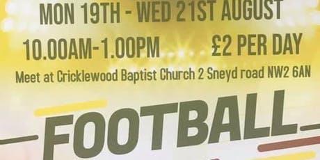 Football camp tickets